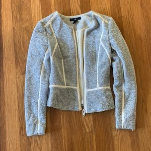 H&M Fitted Zip-Up Jacket. Size 2